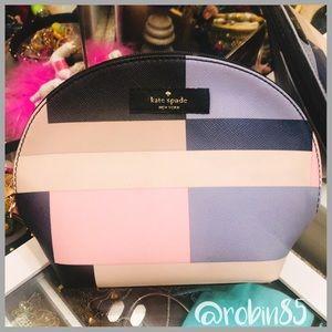 Kate Spade ♠️ Keri Color•Block Small Cosmetic Bag